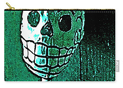 Carry-all Pouch featuring the photograph Muertos 4 by Pamela Cooper