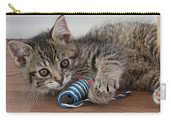Carry-all Pouch featuring the photograph Muffin by Doris Potter