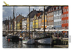 Carry-all Pouch featuring the photograph Mug - Nyhavn by Inge Riis McDonald