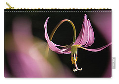 Carry-all Pouch featuring the photograph Mug - Pink Fawn Lily by Inge Riis McDonald