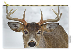 Carry-all Pouch featuring the photograph Mug Shot by Tony Beck