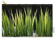 Carry-all Pouch featuring the photograph Mug - Spring Reeds by Inge Riis McDonald
