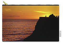 Carry-all Pouch featuring the photograph Mugu Rock Sunset by Samuel M Purvis III