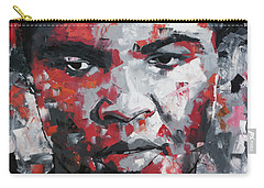 Carry-all Pouch featuring the painting Muhammad Ali II by Richard Day