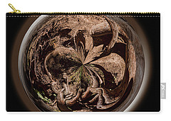 Carry-all Pouch featuring the photograph Muir Woods Orb by Judy Wolinsky