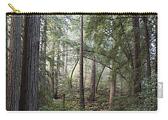 Carry-all Pouch featuring the photograph Muir Woods Tranquility by Sandra Bronstein