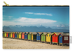 Muizenberg Beach Huts 1 Carry-all Pouch