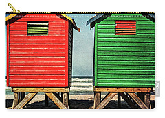 Muizenberg Beach Huts 2 Carry-all Pouch