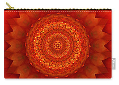 Muladhara Chakra Mandala Carry-all Pouch by Giada Rossi