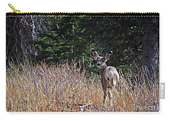 Mule Deer In Utah Carry-all Pouch by Cindy Murphy - NightVisions