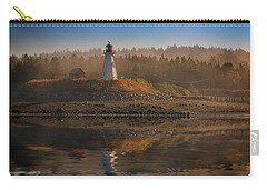 Carry-all Pouch featuring the photograph Mulholland Point Lighthouse by Rick Berk