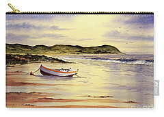 Carry-all Pouch featuring the painting Mull Of Kintyre Scotland by Bill Holkham