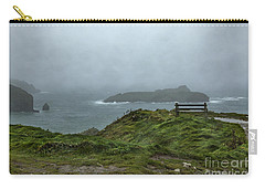 Carry-all Pouch featuring the photograph Mullion Cove by Brian Roscorla