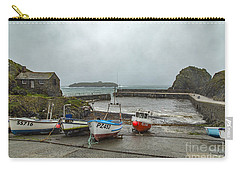 Carry-all Pouch featuring the photograph Mullion Cove Harbour by Brian Roscorla
