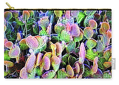Multi-color Artistic Beaver Tail Cactus Carry-all Pouch