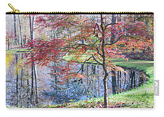 Multi Color Japanese Maple Carry-all Pouch
