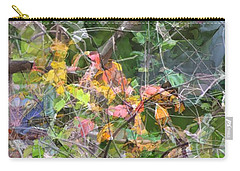 Carry-all Pouch featuring the photograph Multi-color Mosaic by Ellen Barron O'Reilly
