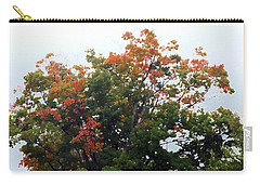 Carry-all Pouch featuring the photograph Multi-color Treetop by Ellen O'Reilly