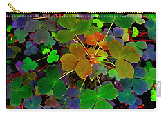 Multi-coloured Leaves Carry-all Pouch