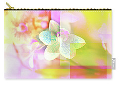 Multicolor Orchids Carry-all Pouch