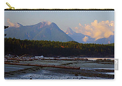 Multileval Photography In One Land Water Trees Mountain Clouds Skyview Olympic National Park America Carry-all Pouch