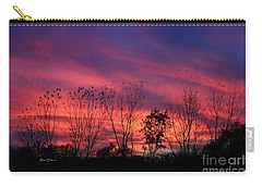 Multiple Colors Sunset Carry-all Pouch by Yumi Johnson