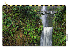Multnoma Falls Carry-all Pouch by Jonathan Davison