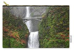 Multnomah Falls -autumn Mist Carry-all Pouch