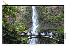 Multnomah Falls, Columbia River Gorge Carry-all Pouch by Greg Sigrist
