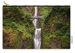 Multnomah Falls Carry-all Pouch by Martina Thompson