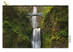 Multnomah Falls Carry-all Pouch by Mary Jo Allen