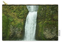 Multnomah Falls Carry-all Pouch by Sheila Ping
