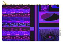 Carry-all Pouch featuring the photograph Mum Series - Abstract - Purple Haze by Brooks Garten Hauschild