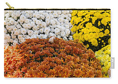 Mums - Farmers Market - Madison -wisconsin Carry-all Pouch