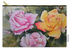 Mum's Roses Carry-all Pouch by Sandra Phryce-Jones