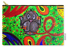 Mun Moji-hookah Monkey Carry-all Pouch