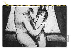 Munch The Kiss, 1895 - To License For Professional Use Visit Granger.com Carry-all Pouch