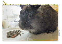 Carry-all Pouch featuring the photograph Munchkin by Denise Fulmer