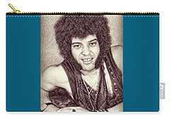 Mungo Jerry Portrait - Drawing Carry-all Pouch