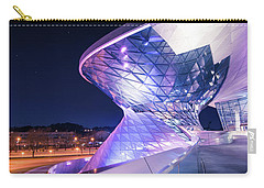Munich Bmw Lines And Curves Carry-all Pouch by Hannes Cmarits