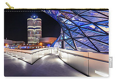 Munich - Bwm Modern And Futuristic Carry-all Pouch by Hannes Cmarits