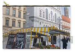 Munich Fruit Seller Carry-all Pouch