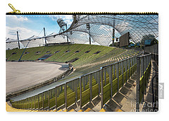 Munich - Olympic Stadium Carry-all Pouch by Juergen Klust