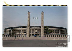 Berlin Olympic Stadium Carry-all Pouch by Nichola Denny