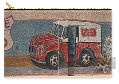 Mural On Historic Route 66 Carry-all Pouch
