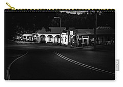 Murphy Chop House Sunrise In Black And White Carry-all Pouch
