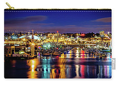 Murray Morgan Bridge View During Blue Hour In Hdr Carry-all Pouch