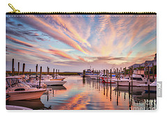 Carry-all Pouch featuring the photograph Murrells Inlet Sunset 2 by Mel Steinhauer