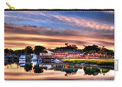 Carry-all Pouch featuring the photograph Murrells Inlet Sunset 3 by Mel Steinhauer