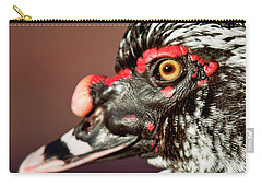 Carry-all Pouch featuring the photograph Muscovy by Sue Collura